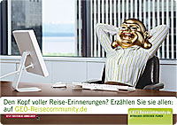 Werbung   GEO-Reisecommunity macht Lust auf Urlaub