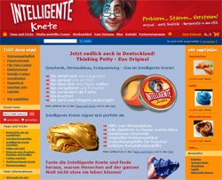 Werbung | Intelligente Knete – ein Phänomen der Wissenschaft?