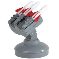 Werbung | Raketenwerfer für ihren Schreibtisch