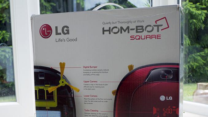 Werbung | Ausgepackt: Staubsaugerroboter LG HomBot Square VR6270