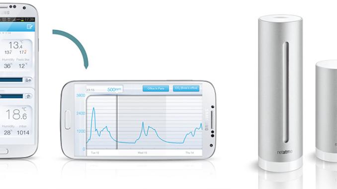 NetAtmo WiFi Wetterstation