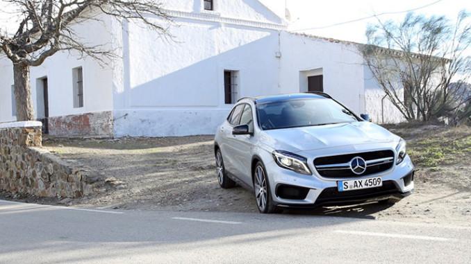 Werbung | Der neue GLA 45 AMG von Mercedes