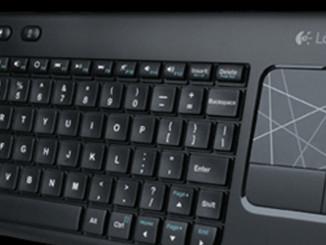 Werbung | Wireless Touch Keyboard K400 – Logitech Tastatur fürs Wohnzimmer