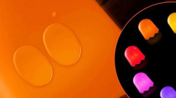 Werbung | Pac Man Lampe Geist – Der Spieleklassiker als Lampe