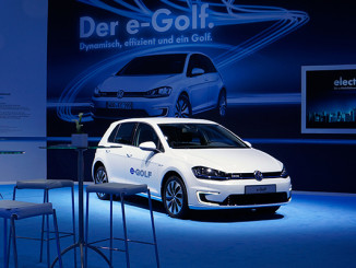 Der neue VW e-Golf wird präsentiert