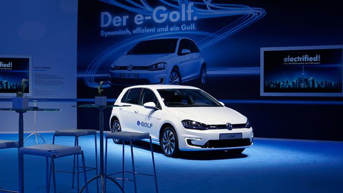 Werbung | e-Mobilitätswochen von Volkswagen – Der neue VW e-Golf wird präsentiert