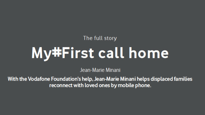 "Werbung | My #First call home – Vodafone ""Firsts"""