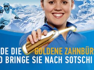 Offizielle Zahnbürste der Deutschen und Österreichischen Olympiamannschaft