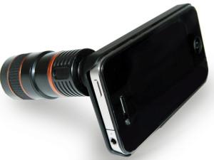 iPhone 4 Zoom-Objektiv 8-fach