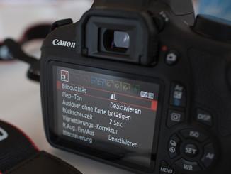 Werbung | Einsteigerfreundlich: Canon EOS 1200D getestet