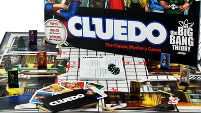 Werbung | Cluedo – The Big Bang Theory Edition – Serie als Spieleklassiker