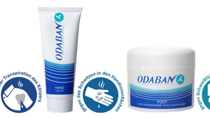 Werbung | ODABAN Antitranspirant – Nur nicht ins Schwitzen kommen