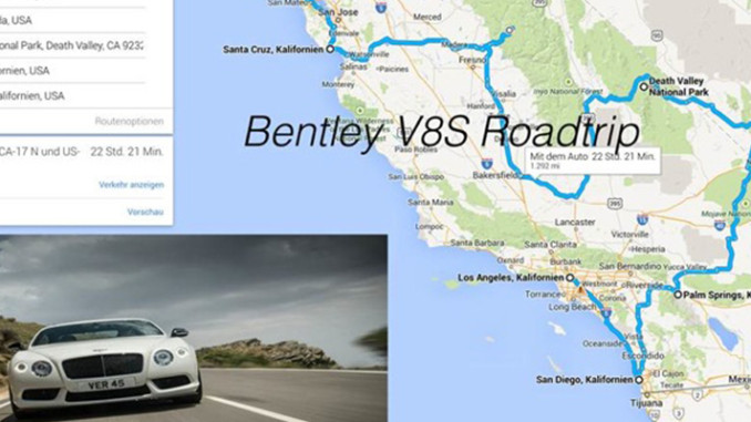 Werbung | 2.000 Meilen Traum-Roadtrip im Bentley Continental GTC V8S #BentleyRT