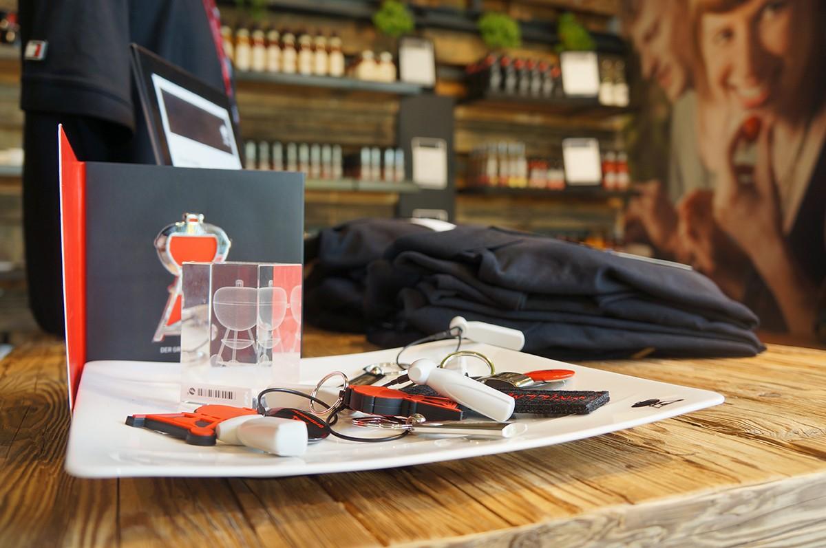 Weber Original Store in Berlin – Am Grill mit Jamie Purviance