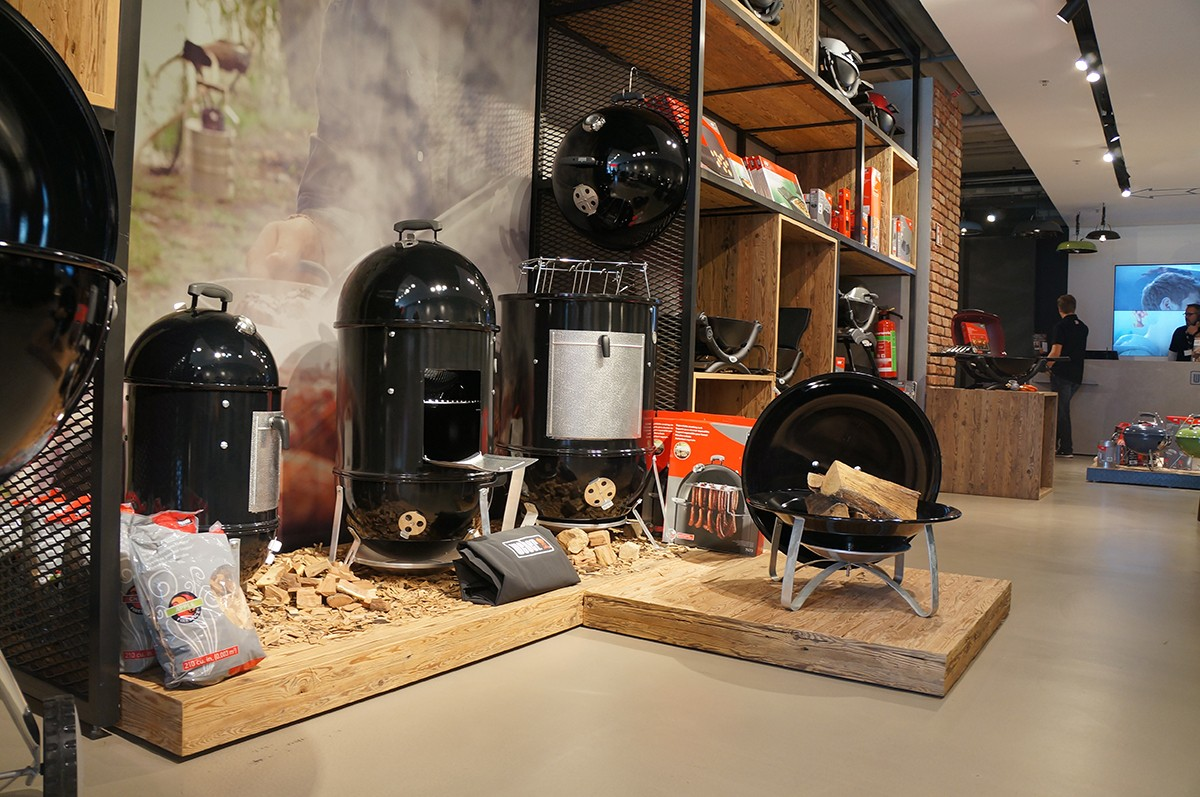 Weber Original Store in Berlin – Am Grill mit Jamie Purviance