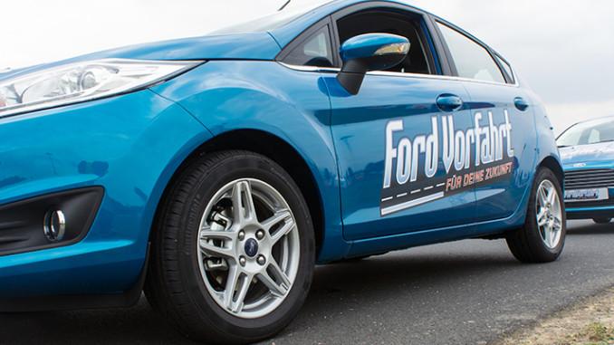 Werbung | Vorfahrt für deine Zukunft – Ford startet kostenloses Fahrtraining für junge Fahrer
