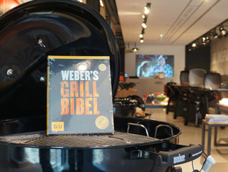 Weber Original Store in Berlin - Am Grill mit Jamie Purviance
