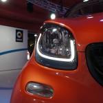 Weltpremiere des neuen smart fortwo und smart forfour