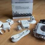 Wireless HD Action Camera - Kleine kompakte Action-Kamera mit viel Zubehör