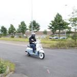Werbung | Auf der Retro-Welle reiten: Peugeot Django (150 ccm Scooter)