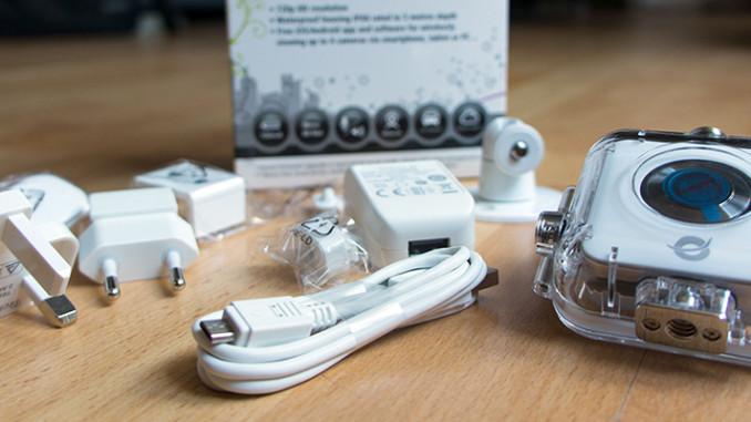 Wireless HD Action Camera - Kleinen kompakte Action-Kamera mit viel Zubehör