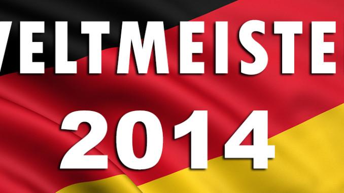 Deutschland ist Weltmeister 2014