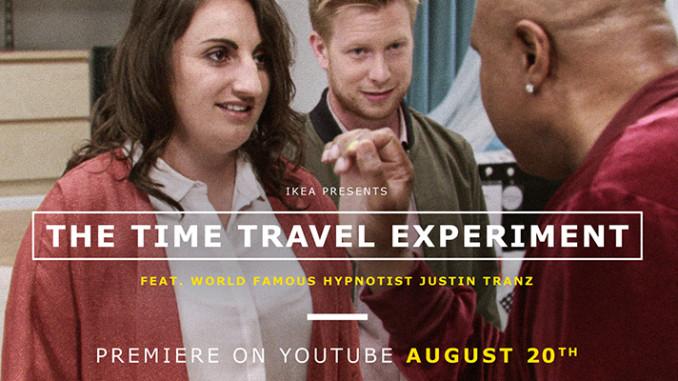Werbung | Zeitreise-Experiment – IKEA lässt Kunden in die Zukunft blicken