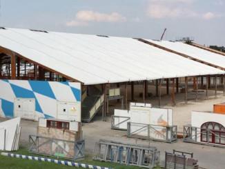 Oktoberfestzelt für dahoam - 3,6 Mio.-teiliger Bausatz für euer eigenes Oktoberfestzelt