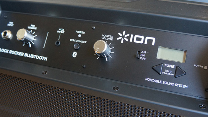 Werbung | ION Block Rocker – Portables Soundsystem für jede Party