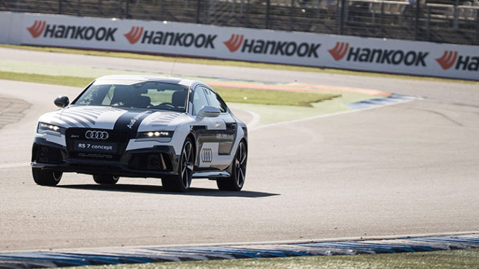 RS7 piloted driving concept