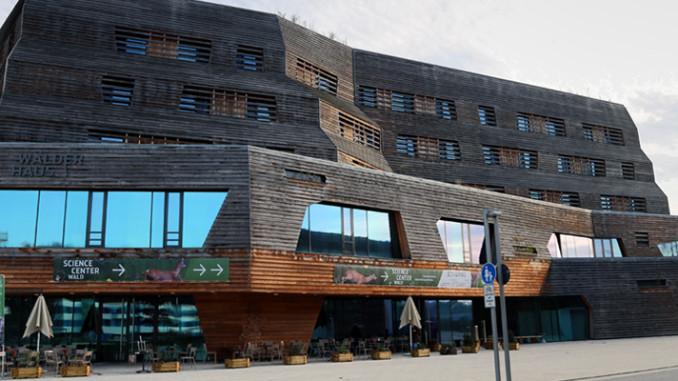Hamburger Wälderhaus Frontansicht