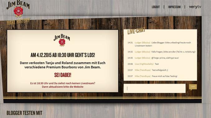 Whiskey Live-Tasting – Verfolgt unser virtuelles Live Tasting und gewinnt ein Premium-Bourbon Whiskey Paket
