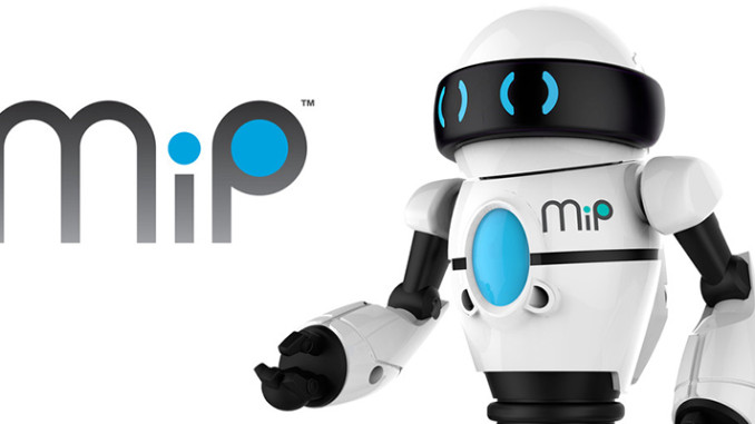 WowWee MiP-Roboter - Kleiner Spieleroboter mit vielen Funktionen mit Logo