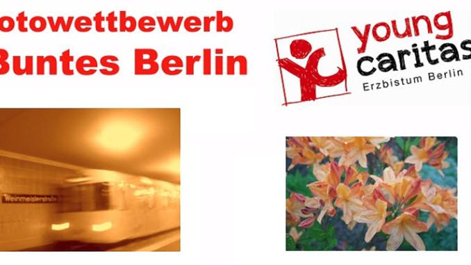 Werbung | Fotowettbewerb Buntes Berlin der youngcaritas