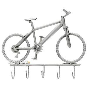 """Metall-ART Schlüsselbrett Fahrrad """"Mountainbike"""" – Schlüssel sicher und stilecht aufbewahren"""