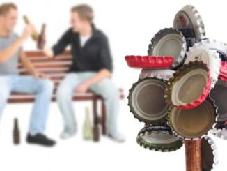 Bierbaum - Kronkorken Magnet – Kreiere deinen eigenen Bierbaum