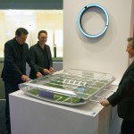 Ford auf dem Salone del Mobile in Mailand – Ausstellungstücke im Stil des Ford GT - Tischkicker