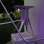 Ford auf dem Salone del Mobile in Mailand – Ausstellungstücke im Stil des Ford GT - Tisch