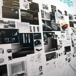 Werbung | Ford auf dem Salone del Mobile in Mailand – Ausstellungstücke im Stil des Ford GT