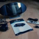 "Getestet: Auna Swizz Mediacenter - Multimedia-Player mit 7"" Multi-Touch-Display Lieferumfang"