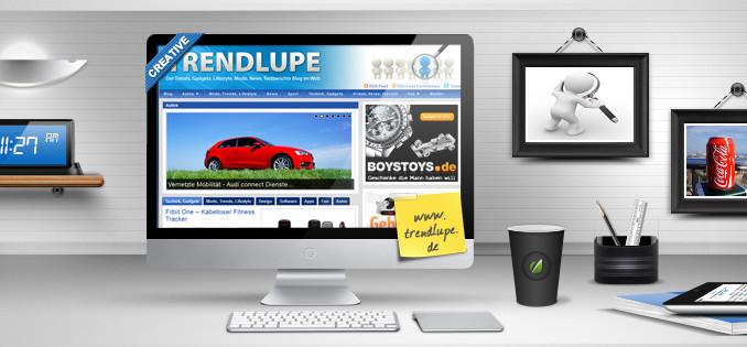 Werbung | Trendlupe mit neuer Social Media Ausrichtung