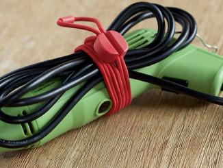 Bluelounge's Pixi – Flexible und wiederverwendbare Kabelbinder