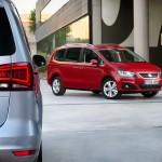 Seat Alhambra Facelift 2015 – Neue Generation Van