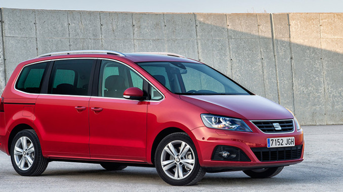 seat alhambra facelift 2015 neue generation van. Black Bedroom Furniture Sets. Home Design Ideas