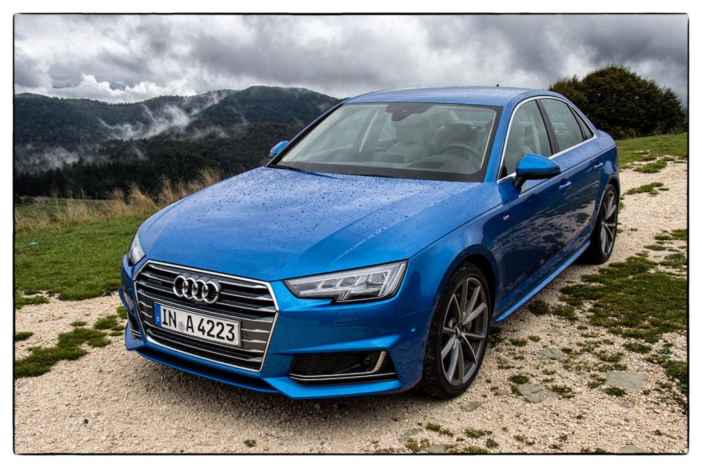 Der neue Audi A4