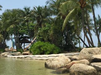 Feine und kleine Stadtstrände in Singapur - Sentosa Island #CelebrateSG50
