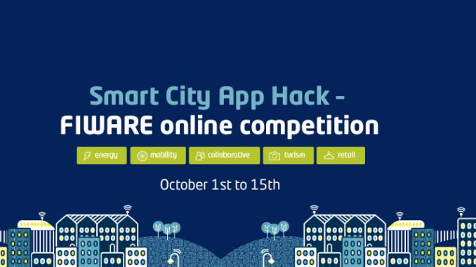 Entwickler-Wettbewerb von SMART CITY APP HACK