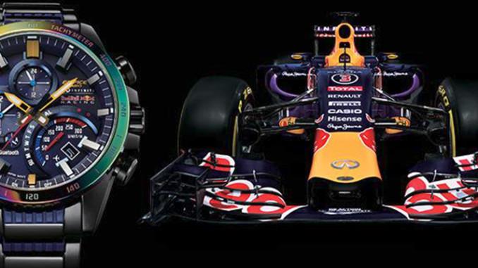 Werbung | Casio EDIFICE EQB-500RBB Infiniti Red Bull Racing Special-Edition – Motorsport fürs Handgelenk