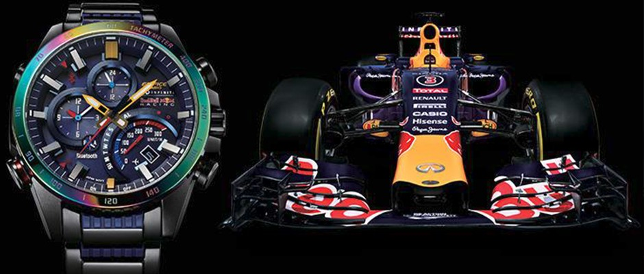 Casio EDIFICE EQB-500RBB Infiniti Red Bull Racing Special-Edition – Motorsport fürs Handgelenk
