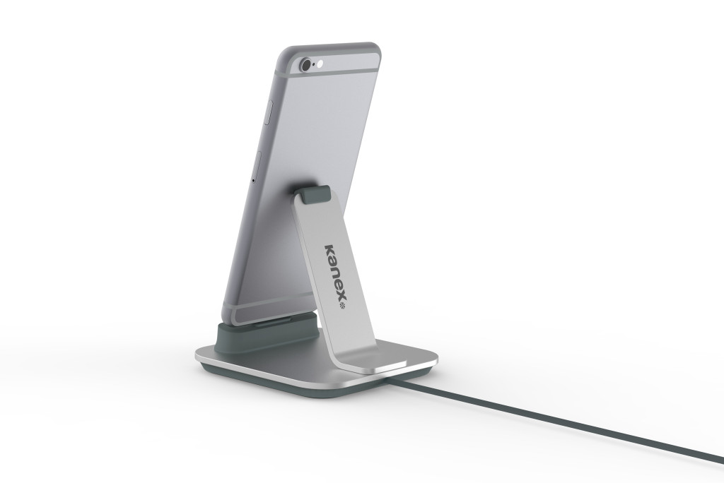 Kanex zeigt iPhone-Ladestation aus Aluminium
